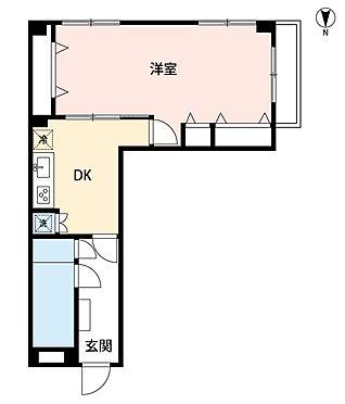 マンション(建物一部)-横浜市西区戸部町1丁目 間取り
