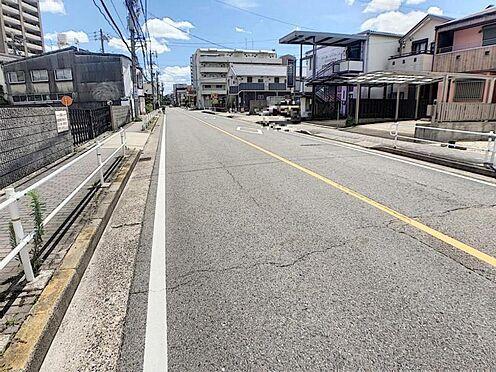 土地-名古屋市東区矢田南2丁目 前面道路広々約12m!