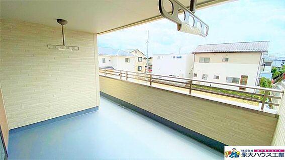 戸建賃貸-福島市北沢又字東谷地西 バルコニー