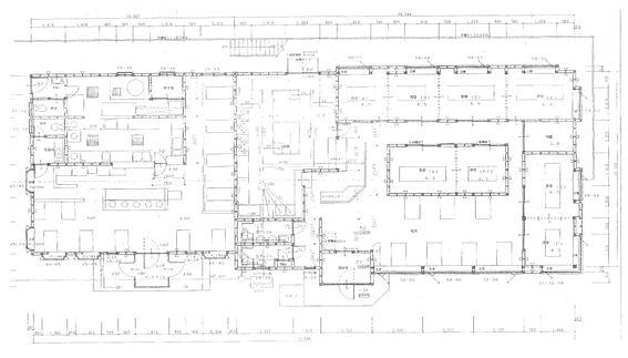 住宅付店舗(建物全部)-山武市埴谷 1階部分 図面と現況が異なる場合は現況優先とします。