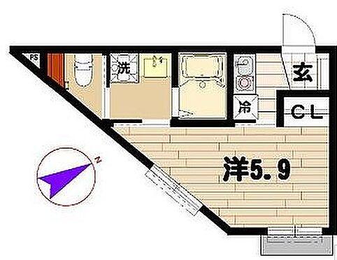 アパート-横浜市港南区上大岡東2丁目 クレール上大岡四番館・ライズプランニング