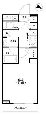 マンション(建物一部)-大田区大森東5丁目 間取り