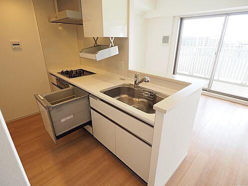 中古マンション-千葉市美浜区稲毛海岸5丁目 食洗器・収納スペースも豊富!