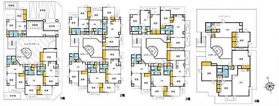 マンション(建物全部)-国立市富士見台1丁目 間取り