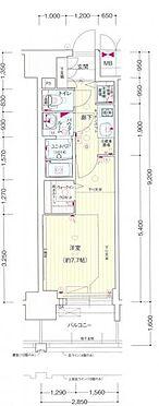マンション(建物一部)-名古屋市東区葵3丁目 間取り