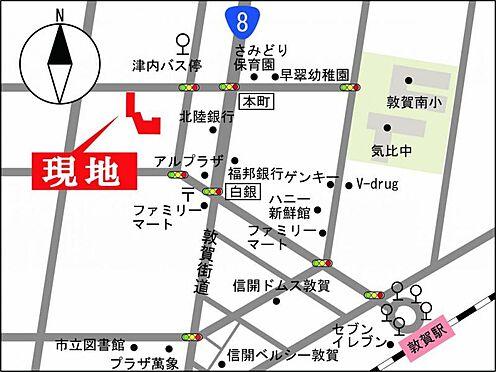 マンション(建物一部)-敦賀市津内町2丁目 地図