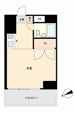 マンション(建物一部)-広島市西区横川町2丁目 間取り
