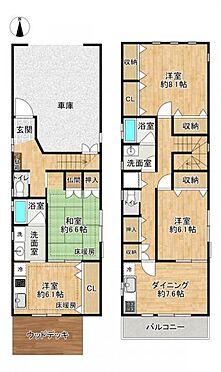 中古一戸建て-名古屋市中村区宮塚町 二世帯としても利用可能な間取り!