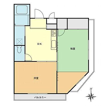マンション(建物一部)-小平市小川東町1丁目 間取り図
