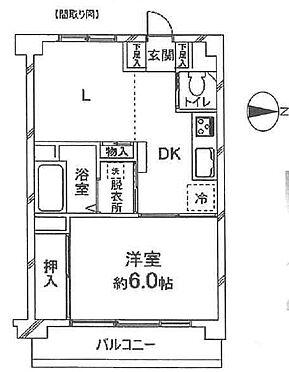 マンション(建物一部)-港区白金4丁目 間取り