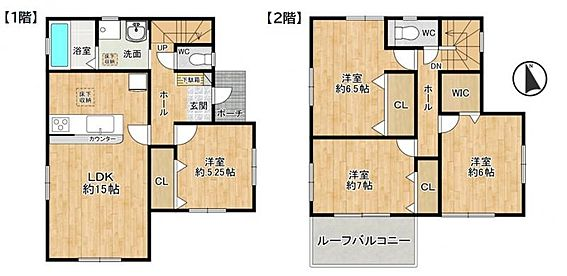 戸建賃貸-東海市加木屋町畑尻 全居室収納スペース付。ぜひ現地でお確かめください。