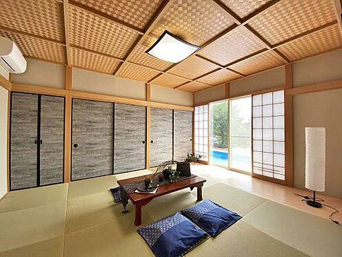 中古一戸建て-伊東市赤沢 ≪和室≫ 約10帖の和室。