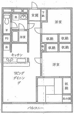 マンション(建物一部)-横浜市中区山手町 間取り