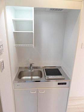 アパート-葛飾区金町2丁目 キッチン(施工例)