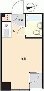 区分マンション-新宿区高田馬場1丁目 間取り