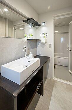 区分マンション-港区高輪2丁目 パナソニック製品の洗面台