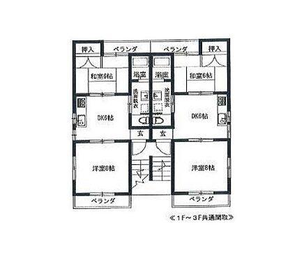 マンション(建物全部)-葛飾区柴又4丁目 間取り