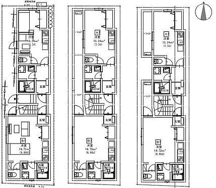 アパート-名古屋市南区豊2丁目 間取図 ※図面と現況が異なる場合は現況優先と致します。
