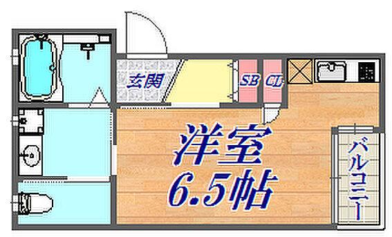 アパート-神戸市長田区梅ケ香町1丁目 間取り