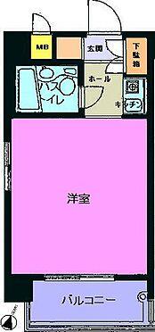 マンション(建物一部)-福岡市中央区今泉2丁目 間取り