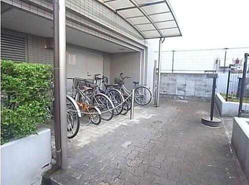 マンション(建物一部)-神戸市灘区深田町3丁目 スムーズな出し入れができる駐輪場
