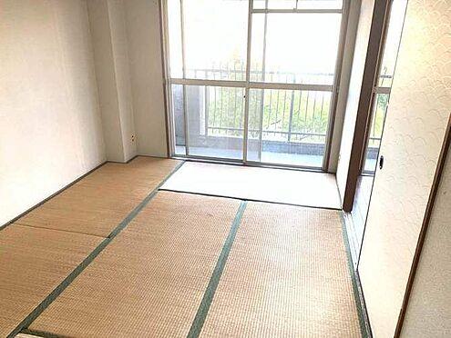 中古マンション-名古屋市港区港栄3丁目 和室6帖はお昼寝や来客スペースとしてもお使いいただけます!