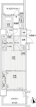 区分マンション-神戸市兵庫区湊町3丁目 間取り