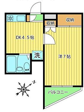 マンション(建物一部)-板橋区弥生町 間取り