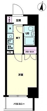 マンション(建物一部)-練馬区中村北3丁目 間取り