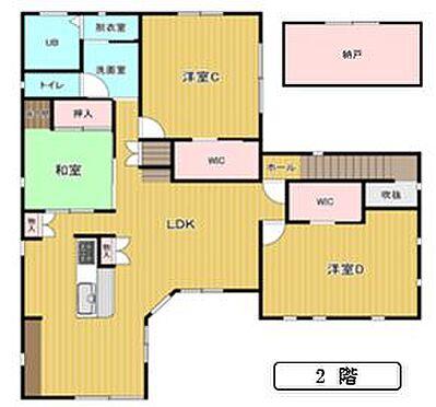 中古一戸建て-福岡市西区豊浜2丁目 間取り2階