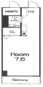 マンション(建物一部)-新宿区上落合2丁目 間取り