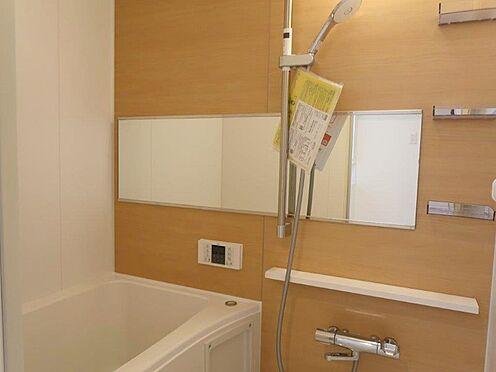 中古マンション-多摩市関戸2丁目 シンプルですが、清々しい清潔感のある浴室です。