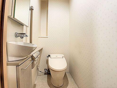 中古マンション-名古屋市守山区城土町 手洗い場付きのトイレ