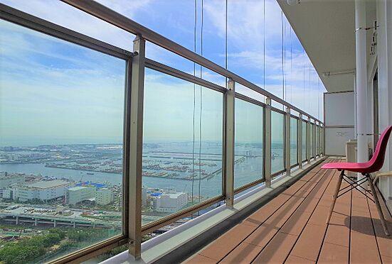 中古マンション-江東区東雲1丁目 奥行1.5m、幅11mの広々としたバルコニー