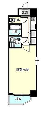 中古マンション-大阪市中央区鎗屋町2丁目 オーソドックスな間取りのオーナーチェンジ物件。今後も賃貸需要が見込めるマンションです。