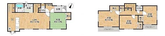 中古一戸建て-名古屋市守山区百合が丘 水回り集中した家事動線にいい間取り!