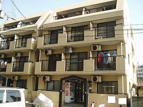 マンション(建物一部)-福岡市南区三宅3丁目 汚れが目立ちにくいタイル貼りの外観