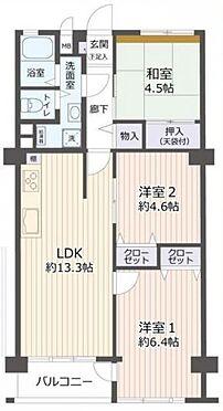 中古マンション-名古屋市名東区社口1丁目 ご家族世帯にも嬉しい3LDK