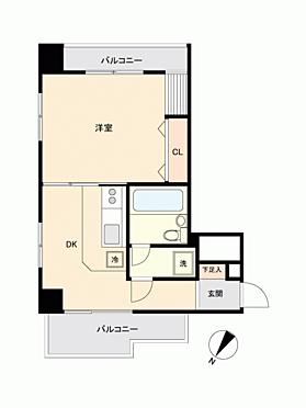 区分マンション-渋谷区東2丁目 間取り