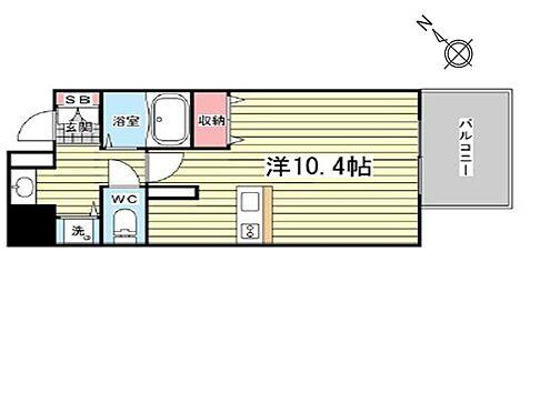 マンション(建物一部)-神戸市中央区八幡通3丁目 間取り