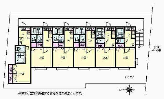 アパート-新宿区四谷坂町 1F