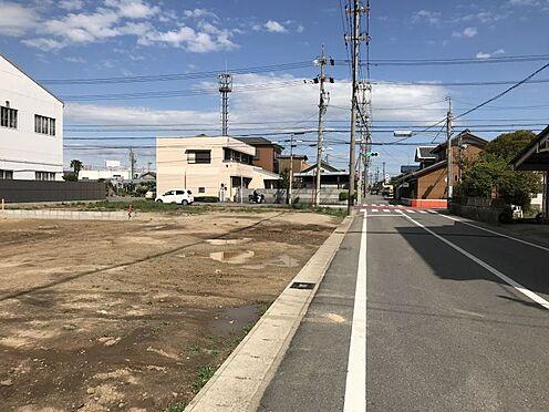 土地-碧南市六軒町4丁目 前面道路 幅員約7.2m、東側道路 幅員約8m!