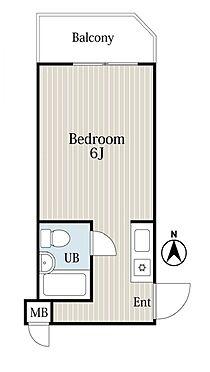 マンション(建物一部)-神戸市東灘区御影中町6丁目 シンプルな単身者向けの物件