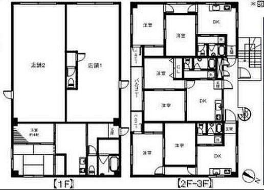 ビル(建物全部)-横浜市港北区小机町 間取り
