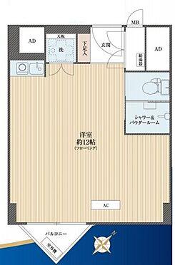 マンション(建物一部)-渋谷区千駄ヶ谷5丁目 間取り