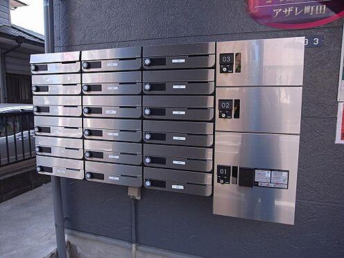 アパート-町田市原町田2丁目 不在時に便利な宅配ボックス。