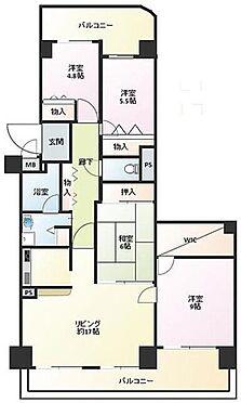 マンション(建物一部)-神戸市西区月が丘5丁目 南西向き・両面バルコニー