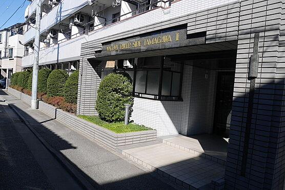 マンション(建物一部)-川崎市多摩区中野島6丁目 南西側エントランス(多摩川沿いのエントランスには車寄せスペースがございます)