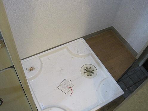 マンション(建物一部)-相模原市中央区矢部4丁目 防水パン付、室内洗濯機置き場です。