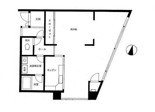 マンション(建物一部)-横浜市保土ケ谷区川辺町 間取り